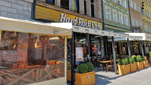 Wroclaw Hard Rock Cafe po remoncie