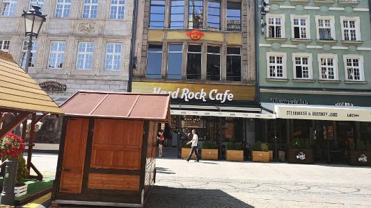 Hard Rock Cafe Wrocław Po Remoncie