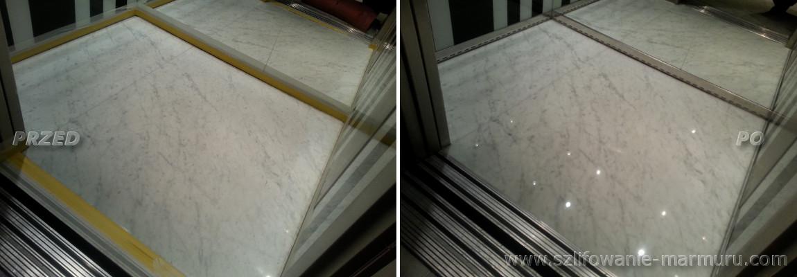 Poradnik jak szlifować marmur w windzie